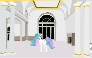 Princess Celestia has been acting odd around me by OceanRailroader