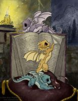Storytime (Commission) by MistiqueStudio