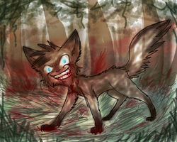 The Forest Will Be Tainted by The Paws Of Your Own by Purrlstar