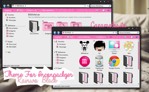 Rainwo Black  Thema For Incopackager by Caramelosita