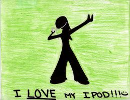 I LOVE MY IPOD by bmbbaby4