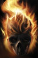 ghost rider by CHADBOVEY
