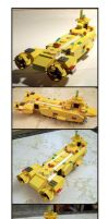 Another Darn LEGO Submarine by Frohickey
