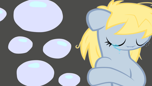 Derpy Hooves Crying Wallpaper by armando92