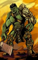 World War Hulk by artsox