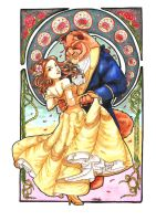 beauty and the beast dancin by Mmystery