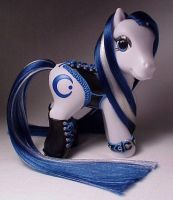 Corset pony for Aquariousmoon by Woosie