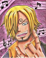 Sanji: I will rock you by Koza-Kun