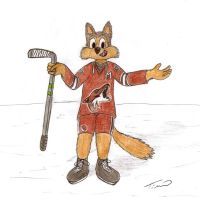Howler the Coyote by HammerlockTE
