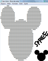 Mickey Ascii by spreepvp