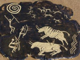 Cave Art by CorazondeDios by In-The-Mud