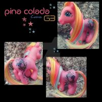 My Little Pony Pina Colada G3 - Custom by Snuzzle