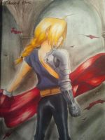 Edward Elric by Bluebird1305