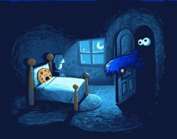 Cookie Monster Wallpaper 3 by chicastecnologicas21