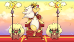 The fluffiest king of the fluffiest kingdom by bukin