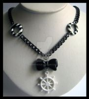 Nautical Necklace by cherryboop