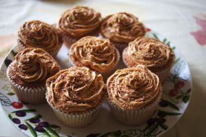 Coffee Cupcakes by dimebagsdarrell