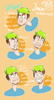 Jack expressions  :D by IvaTheHuman