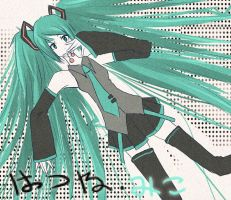 miku by starblacks