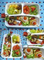 Summer Grill Contest Bento by plainordinary1