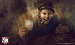 Smokin' Aces by LarryWilson