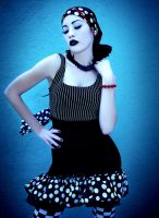 Pinar Eris Blue Dots by CelestialStorms