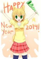 New Year With Doge-chan by ZeroTheUltraDirector