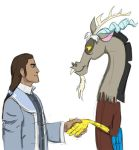 LoK / MLP:FIM - Tarrlok and Discord by ah-darnit