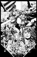 Justice League 44 Cover Inks by jayfabs