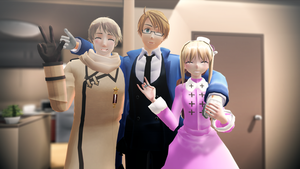 [MMD] Peace [Hetalia] by Rakki-Star