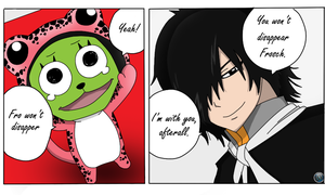 Rogue and Frosch by BlueFox95