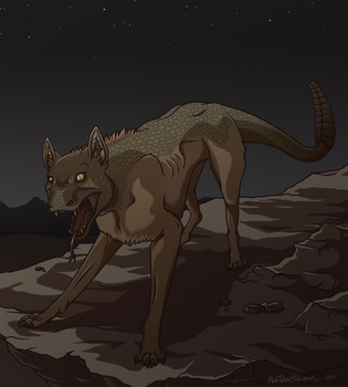 Night stalker by NorthWing