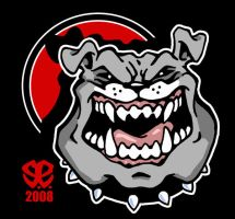 Mascot design: Bulldog by Revelationchapter9