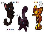 4 POINT KITTEN ADOPTS OPEN by KaishouTous