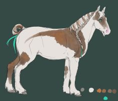 .: Gypsy horse design :. by Shien-Ra