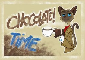 Chocolate Time by doms3d