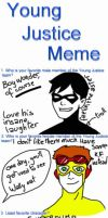 YOUNG JUSTICE MEME by PauPaufg