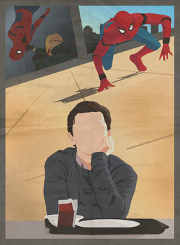 Spider-Man Homecoming by LTRees