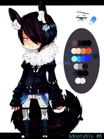 Adoptable Auction #6 {CLOSED} by Master-chan