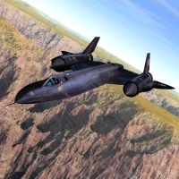 SR-71 Over the Canyon by JHoagland