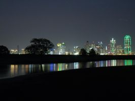 Dallas at Night 2 by Geistson