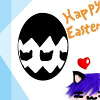 Happy Easter from Ikuto by Aokaen92