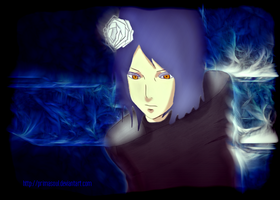 Konan - Akatsuki (Colored Art) by PrimaSoul