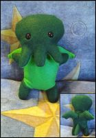Little Cuthulu Plushie by AnahRessa