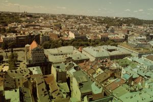 Lviv from above 4 by julismith