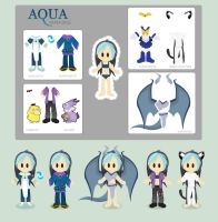 Aqua's Paper Doll - BDay 2011 by Dygee