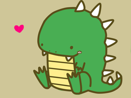 Little Dino by Kyuwa-kun