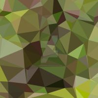 Pistachio Green Abstract Low Polygon Background by apatrimonio
