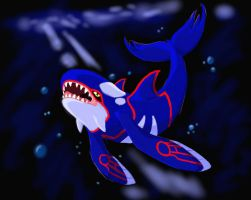Kyogre by MidnightCharizard