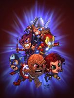 Avengers Toons by raulman